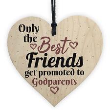 Handmade Best Friend Gift Godparent Asking Gift For Christening Special Keepsake