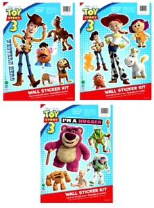 Disney Toy Story Bedroom Stickers Woody / Jessie / Hugger Sheet Size 31cm x 23cm