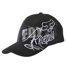 NWT Fox Men's Ball Sport Cap/Hat S/M Size FlexFit Black #08 Xmas Gift