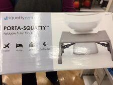 Squatty Potty Porta-Squatty Foldable Toilet Stool 1.8 Pound NEW!