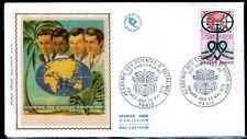 FRANCE FDC - 849 1760 3 ACADEMIE DES SCIENCES D OUTRE MER 26 5 1973