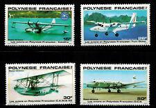 Polynésie timbre Poste Aérienne N° 156 à 159 neuf ** / MNH