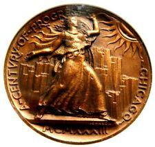 1933 IL HK 471 R-4 NGC MS 66 2ND FINEST ITALIAN EXHIBIT $ CENTURY OF PROGRESS !