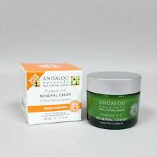Andalou Naturals Renewal Cream Brightening Probiotic plus C - 1.7 fl oz