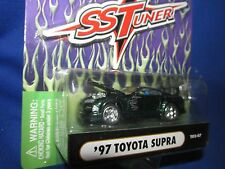 97 TOYOTA SUPRA muscle machine Import tuner 1/64 dark green  furious street race