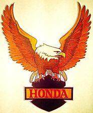 Original Honda Motorcycle Eagle Iron On Transfer RARE!