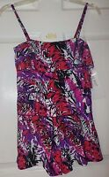 A SHORE FIT Women's Swim Romper, Size 10, NEW WITH TAGS, Retail $92
