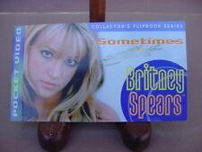 "BRITNEY SPEARS COLLECTORS FLIP BOOK SERIES POCKET VIDEO ""SOMETIMES"""