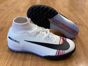 Nike Mercurial Superfly X 6 Elite TF Turf soccer shoes AJ3572-009 Men's Size 8.5
