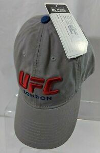 2016 UFC London Sample Snapback Hat Reebok Adjustable Cotton Cap