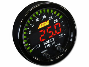 AEM Boost Gauge 30-0306 X-Series Boost Pressure Gauge -30 ~ 35PSI / 1~2.5BAR