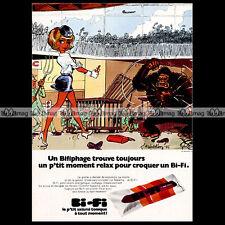 BI-FI & SABENA & NATACHA par François WALTHERY - 1973 Pub / Publicité / Ad #A72