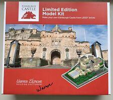 Lego Edinburgh Castle model rare limited numbered signed new unopened