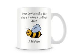 Funny Mug - Bee Bad Hair Day...? - Great Gift/Present Idea
