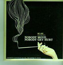 (CX834) We Are Scientists, Nobody Move, Nobody Get Hurt - 2005 DJ CD