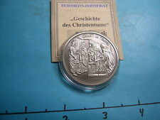 CHRIST IN THE TEMPLE HISTORY OF CHRISTIANITY SPECIAL GERMAN ISSUE 999 SILVER #9