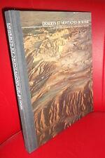 DESERTS ET MONTAGNES DE RUSSIE Beau livre relié (Hémione, Tian-Chan..) étendues