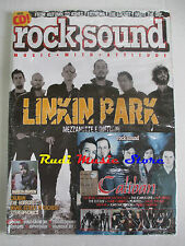 rivista ROCK SOUND 109/2007 + CD Caliban +POSTER 30 Sconds To Mars Enter Shikari