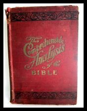 The comprehensive analysis of the Bible; (1910)