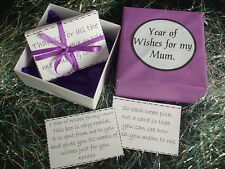 Year of Wishes for my Mum~ Christmas Gift,Birthday,