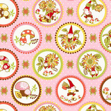 1YD BETTER GNOMES & GARDENS 2HDB-2 CAMEO GNOMES FUNGI PINK In the Beginning