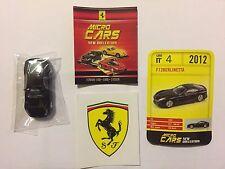 "DIE CAST FERRARI MICRO CARS "" F12 BERLINETTA "" USCITA N° 4 SCALA 1/100 KYOSHO"