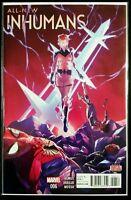 All New INHUMANS #6 (2016 MARVEL Comics) VF/NM - Comic Book