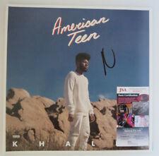 "KHALID SIGNED ALBUM LP 12"" VINYL AMERICAN TEEN JSA"