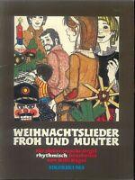 """Willi Nagel :"""" Weihnachtslieder Froh und Munter """" für e-Orgel"""