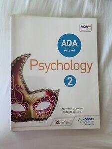 AQA A-level Psychology Book 2 by Jean-Marc Lawton, Eleanor Willard...