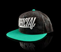 Stay Official - Black and Mint 1D Applique Snapback