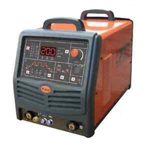 Jasic Pro TIG 200P AC/DC Digital (JT-200D) TIG Welding Machine - 5 yr warranty!