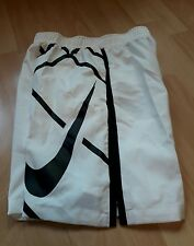 "NEW Boys Nike Tennis Shorts Small Years 8 to 10  7""  white"