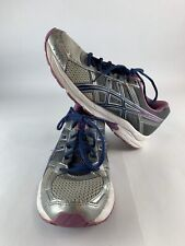 Asics Gel Contend 4 Womens Size 8.5 Running Shoes Gray/Blue/Purple