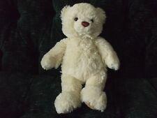 """13"""" Cream colored teddy bear by Aurora"""