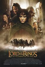 """The Lord Of The Rings Movie Poster [Licensed-New-Usa] 27x40"""" Theater Size (2001)"""