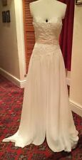 Unbranded Chiffon Beading Strapless Wedding Dresses