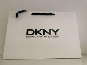 DKNY Paper Carrier/Gift Bag White - 23 x 35 x 10cm