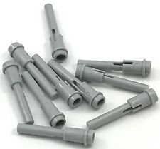 Lego 10 New Light Bluish Gray Technic Pin 1/2 2L Bar Extension Flick Missiles