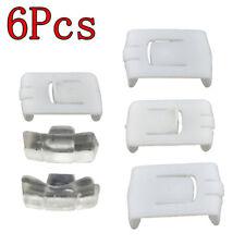 2 Sets 6Pcs Seat Rail Clip Runner Guide Piece For VW Golf MK1 MK2 MK3 Corrado