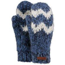 Gants et moufles bleu en acrylique taille unique pour femme
