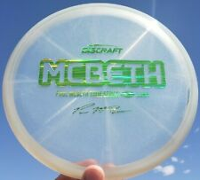 New Discraft Tour Series Z Swirl LUNA Paul McBeth 175g Shimmery Cloudy Clear