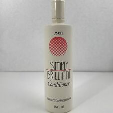 Avon Simply Brilliant Dry Damaged Hair Conditioner 15oz Bottle