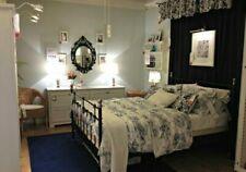 IKEA Emmie Land Duvet Cover Quilt Cover 3 pcs Set Full Queen Blue White