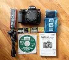 Canon 5D Mark IV Digital SLR Camera with 4 x 32GB CF Cards