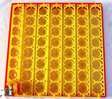 AUTOMATIC 55 Eggs Quail Turner Tray110 Volt AC motor with 2 Prong Plug 1/240RPM