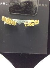 $42 Marc Jacobs gold  tone mini bow stud earrings MM2