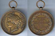 Médaille de prix - Société nationale tir championnat de 1891