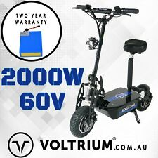 2000w Folding LITHIUM 20Ah Electric Scooter for Kids / Adults. Voltrium Rogue