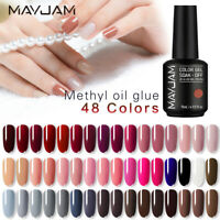 15ml MAYJAM Nail Care UV LED Gel  Nail Polish Soak Off Manicure Top Base Coat